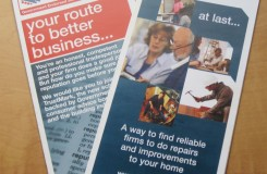TrustMark leaflets - consumers and tradespeople