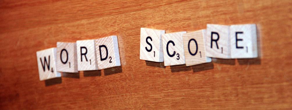 Herts copywriter word score