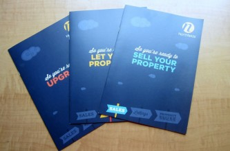 Crisp copy for Northfields' sales, letting and property management brochures