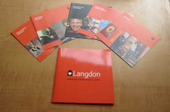 Fundraising pack for Langdon charity