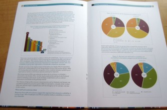 An inside spread of SunGard's white paper