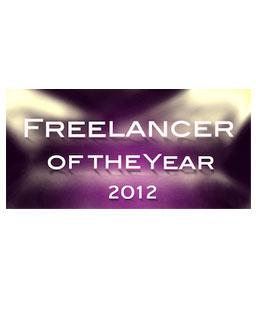 Freelancer of the year logo