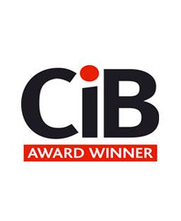 CIB winner logo